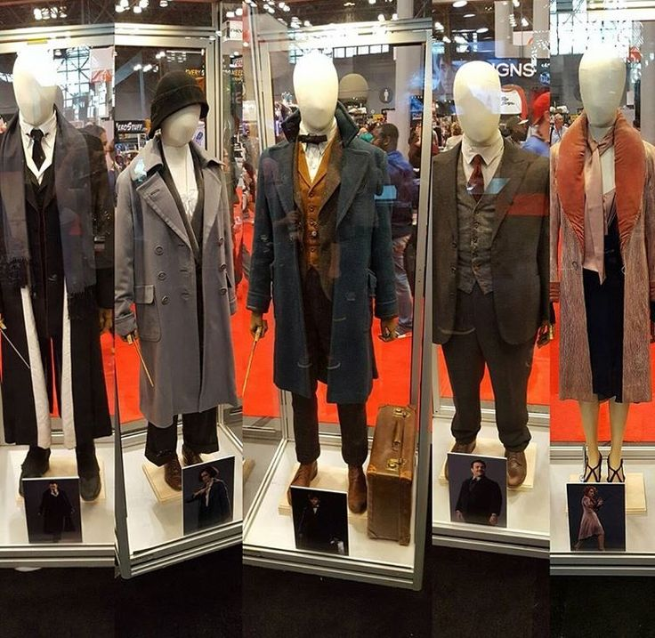 Fantastic beasts and where to find them. Costumes.