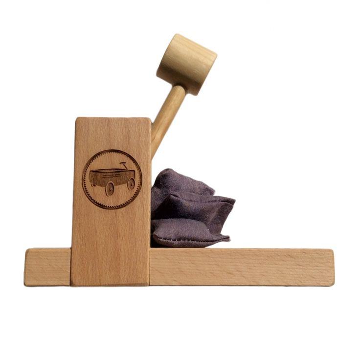 Black Wagon Signature Wooden catapult at Black Wagon