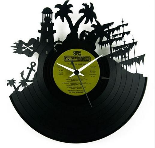 Orologio Pirates in vinile