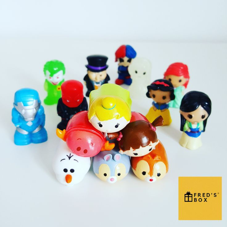 Tsum Tsums have been appearing in Fred's Boxes with Ooshies! To order your fun kids subscription box please check out the website.
