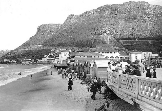 Muizenberg Beach 1940| Flickr - Photo Sharing!