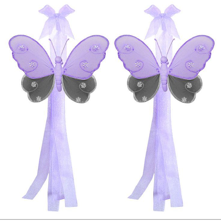 Curtain Holdbacks For Window Treatments Pink Purple Green