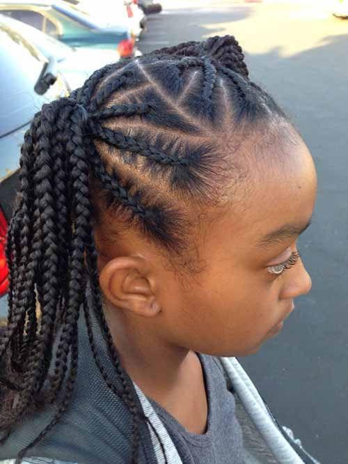 5 Easy Braids Hairstyles for Little Girls | Best Black Braids ...