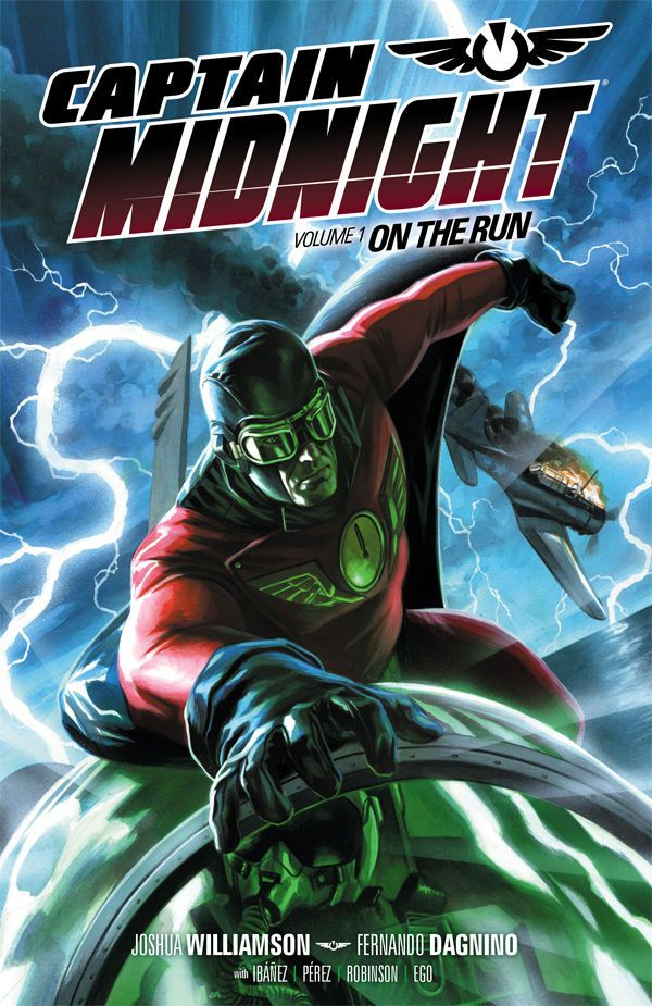 n the forties, he was an American hero, a daredevil fighter pilot, a technological genius... a superhero. But since he rifled out of the Bermuda Triangle and into the present day, Captain Midnight has been labeled a security risk, a possible threat to homeland security that can't be ignored.