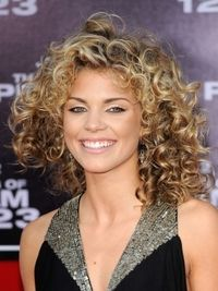 AnnaLynne McCord Big Curly Hairstyle