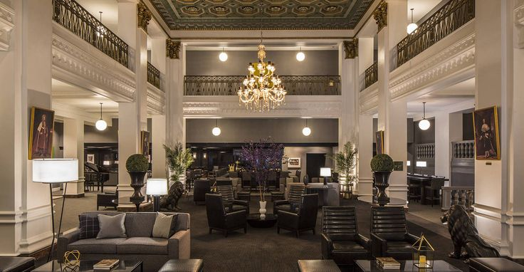 Lord Baltimore Hotel | New interior is gorgeous in this 1928 Baltimore, MD historic hotel