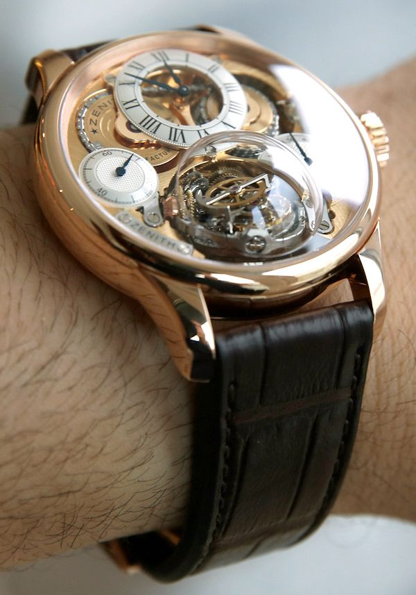 Zenith Academy Christophe Colomb Hurricane Watch Hands-On | aBlogtoWatch