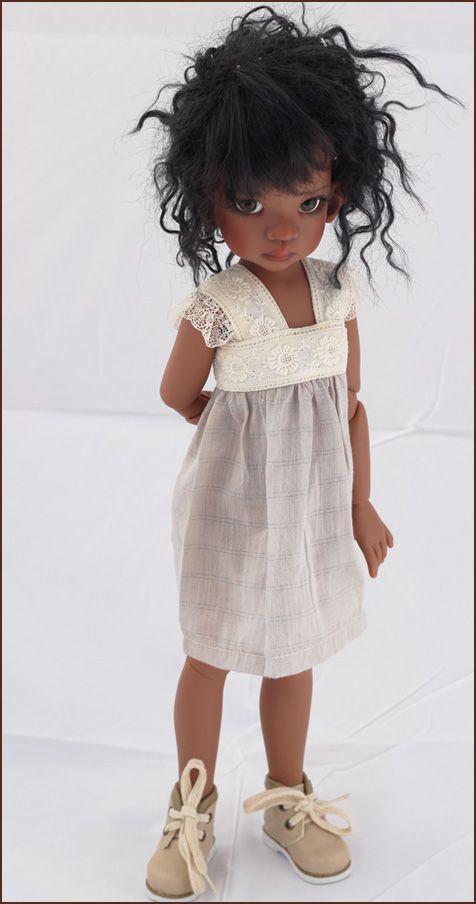 JpopDolls.net ™::Dolls::Kaye Wiggs Dolls::Talyssa::Talyssa Human in Coffee Tan skin tone (PREORDER)