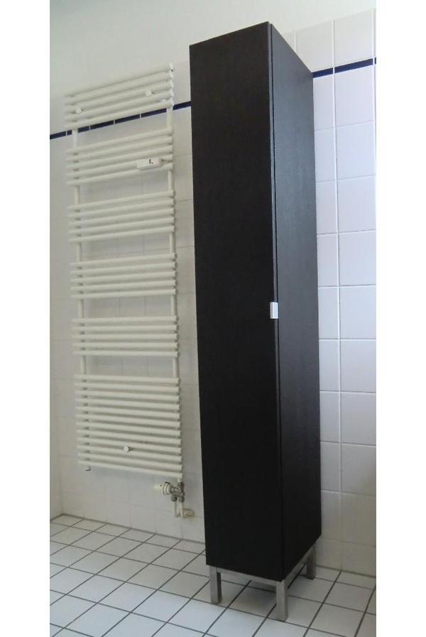 NEUER Badezimmerschrank dunkelbraun IKEA Schrank in