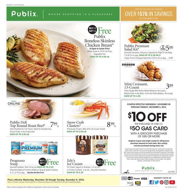 Publix weekly ad Nov. 30 - Dec. 6 #US #food #circular