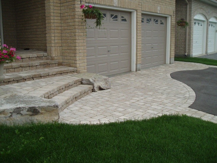 Image detail for -Paradise Home Landscaping Oshawa Samples of driveways and backyards