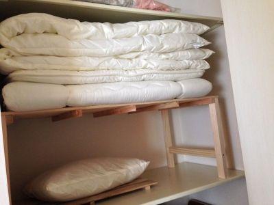 20140514_布団収納棚に布団を収納してみた