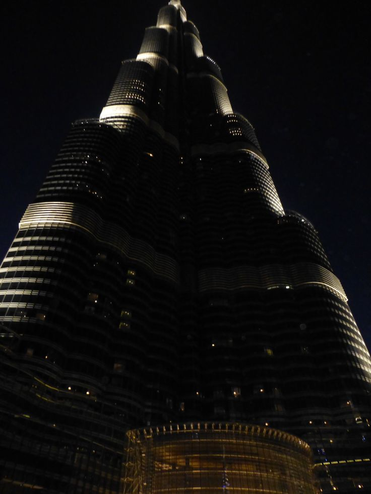 Evening Shot of Amani Hotel Dubai