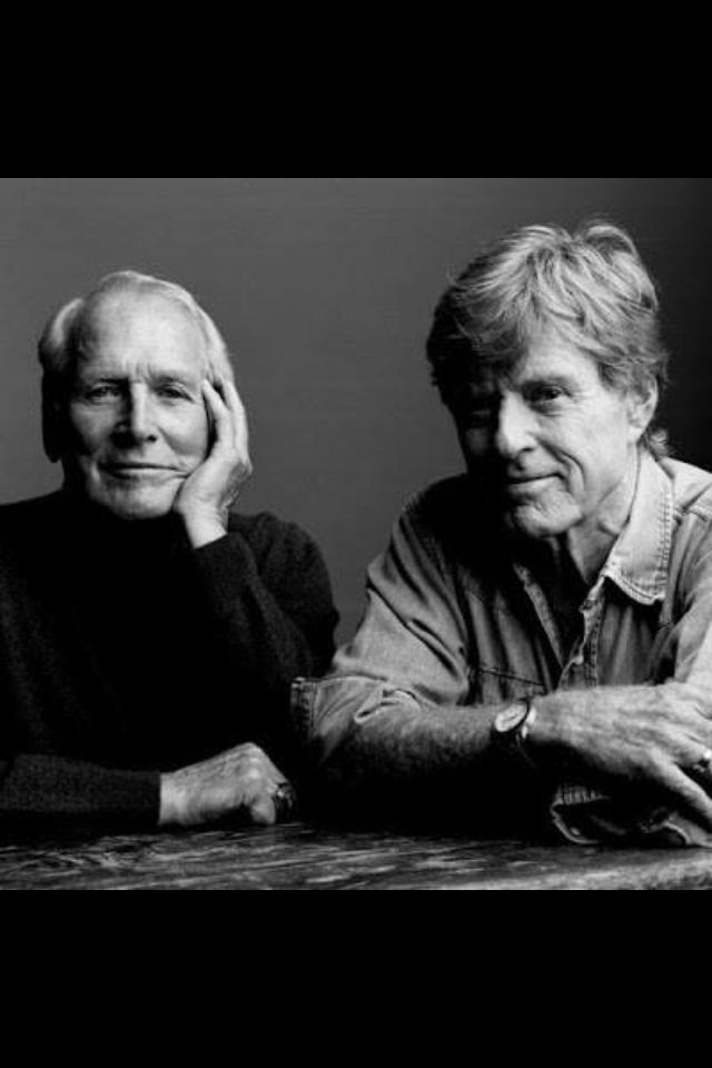 Paul Newman & Robert Redford. They really should have made another movie together.