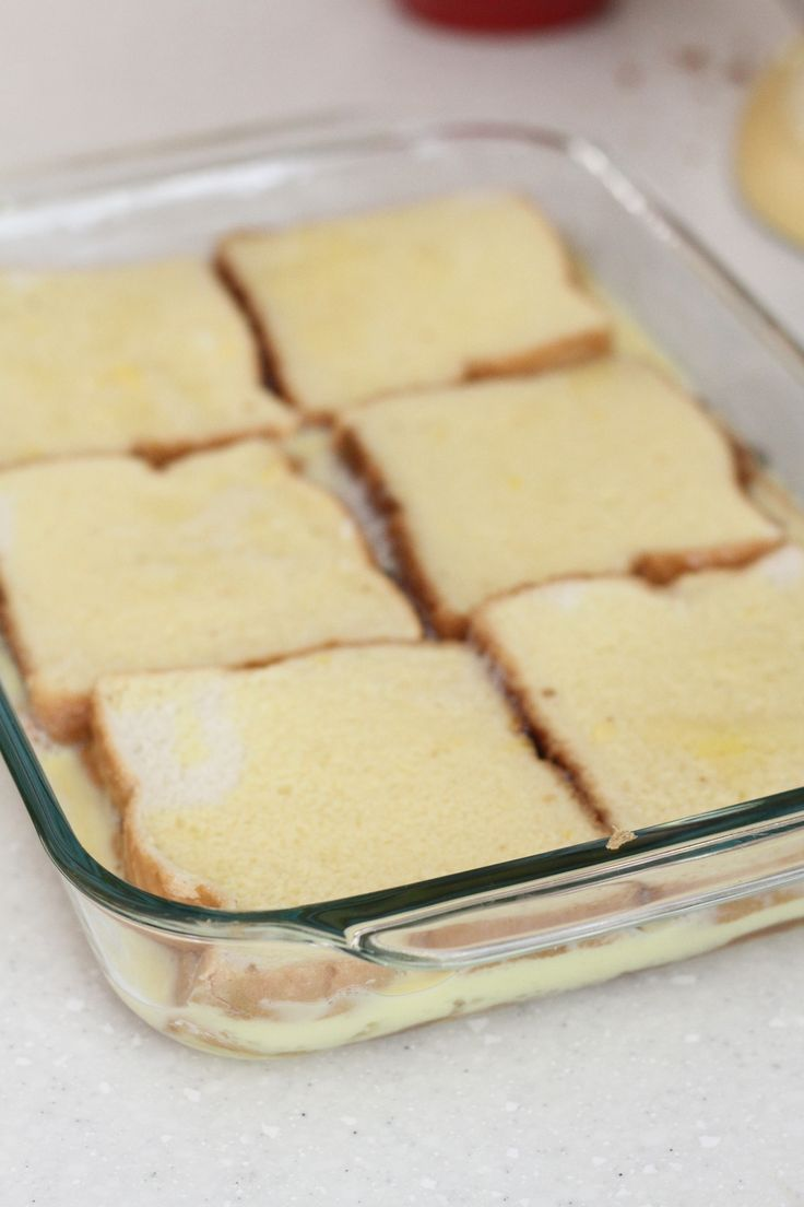 Want french toast taste without all the work? Make this recipe for French Toast Casserole the night before and pop it in the oven in the morning!