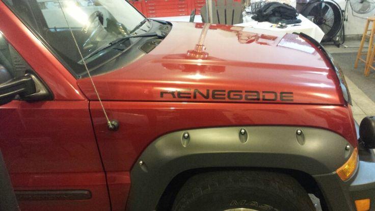 Jeep liberty renegade decal