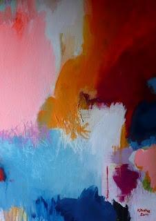 Untitled  50 x 70 cm  Mixed Media on Canvas  KBOTHA 2011