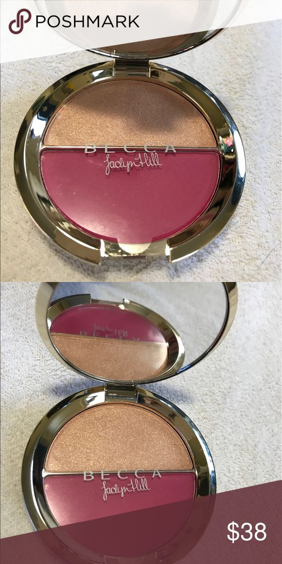 NEW NO BOX••BECCA SPLITS HYACINTH/PROSECCO POP New but no clue where it's box ended up. Super gorg and limited edition. Shades are hyacinth and prosecco pop. Price is firm unless bundled. BECCA Makeup Blush