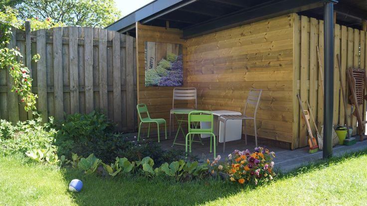 17 best images about stijl en sfeer in de tuin on pinterest gardens tuin and kyoto garden - Luifel ontwerp voor patio ...
