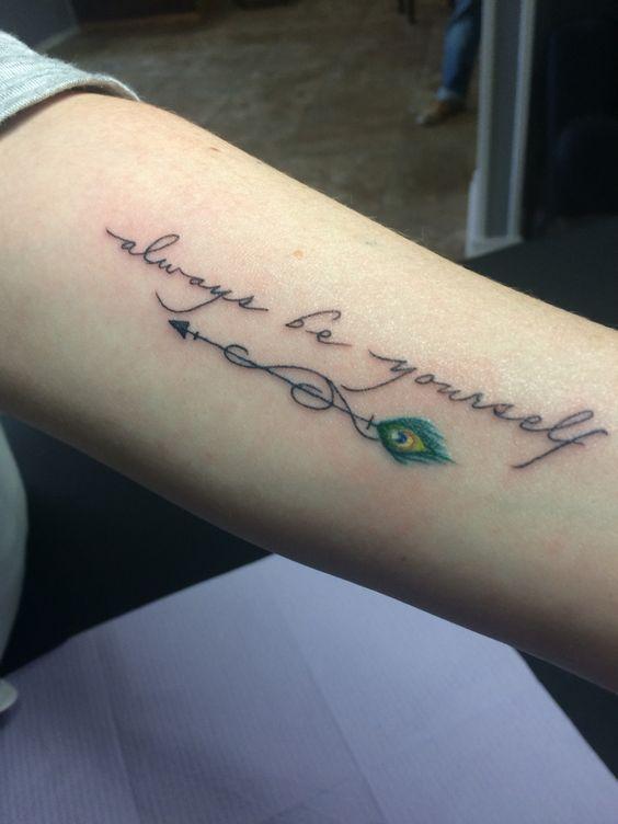 7c514ba62b98c 25+ Impressive Feather Tattoo Designs | Tattoos | Arrow tattoos ...