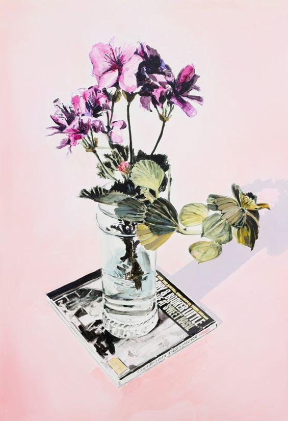 Dane Lovett creates interesting contemporary still-life works.