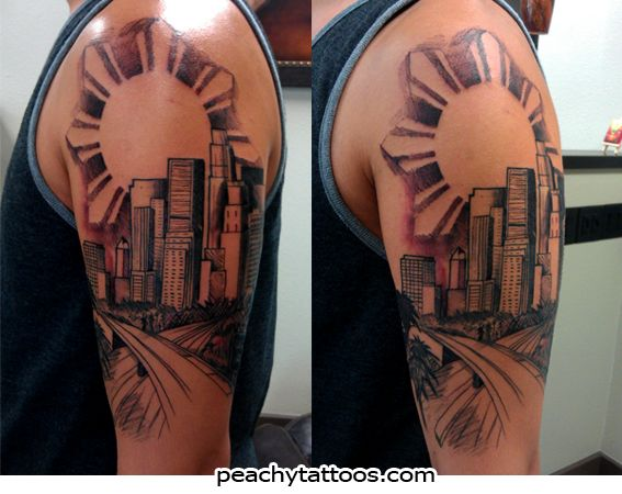 17 best images about los angeles on pinterest los for Los angeles tattoo