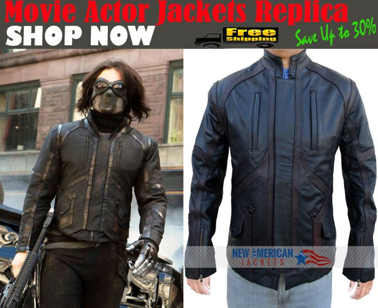Captain America Sebastin Stan Bucky Barnes Jacket with Easy 30 Day Exchangeable Guarantee with Free Gifts.   #CaptainAmerica #SebastinStan #BuckyBarnes #fashionista #fashionstore #style #onlineshop #fashionpost #fashion #fashionable #dress #stylish #topshop #fashionpleasure #Clothing #fashionandstyle