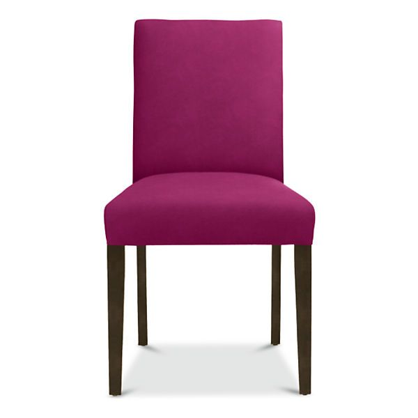 chair for Wine Cellar table. love this color so much. i think it will look good with the purple sleeper i have saved too.     Room & Board - Peyton Custom Side Chair