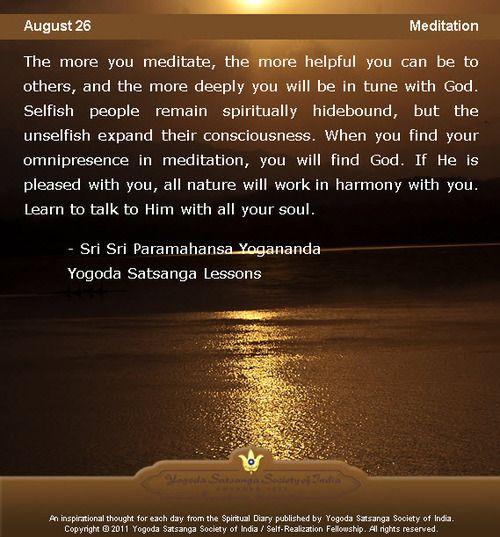 Yogananda Quotes: 17 Best Images About Paramahansa Yogananda On Pinterest