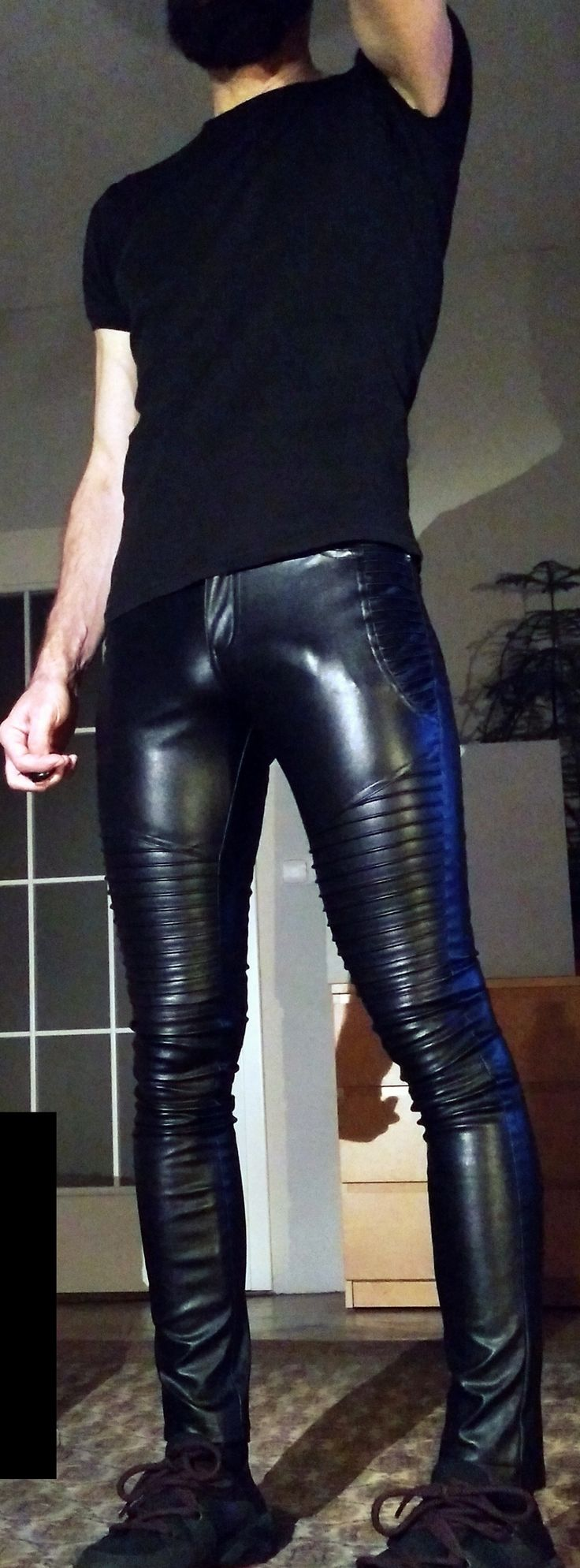 Why wear pants when you can wear sausage casing instead?