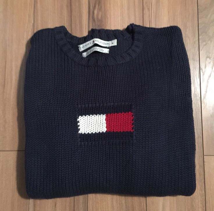 A personal favorite from my Etsy shop https://www.etsy.com/ca/listing/254795534/tommy-hilfiger-womens-sweater-100-cotton