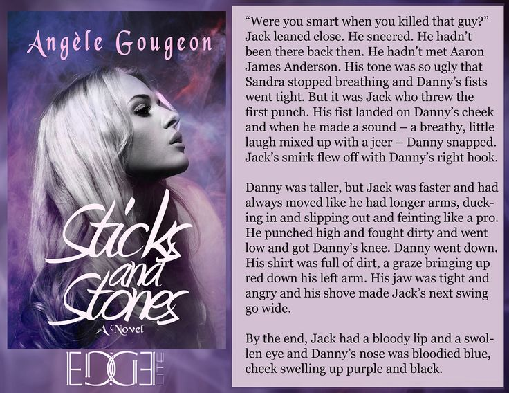 Join Jack, Danny, and Sandra in the dark paranormal, Sticks and Stones. Sandra knows what it's like to die - she has premonitions of the dead. https://www.amazon.com/Sticks-Stones-Angèle-Gougeon-ebook/dp/B01BEQM9CU/ #paranormal #ebook #Kindle #supernatural #YAlit #quote