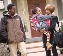 Moving and Relocating: Helping Your Child Cope * Moving to a new home can be stressful for both parents and children. Even if the move or relocation is for a positive reason, the transition to a new house and to a new school takes time and patience. Here are some ways to ease the transition.