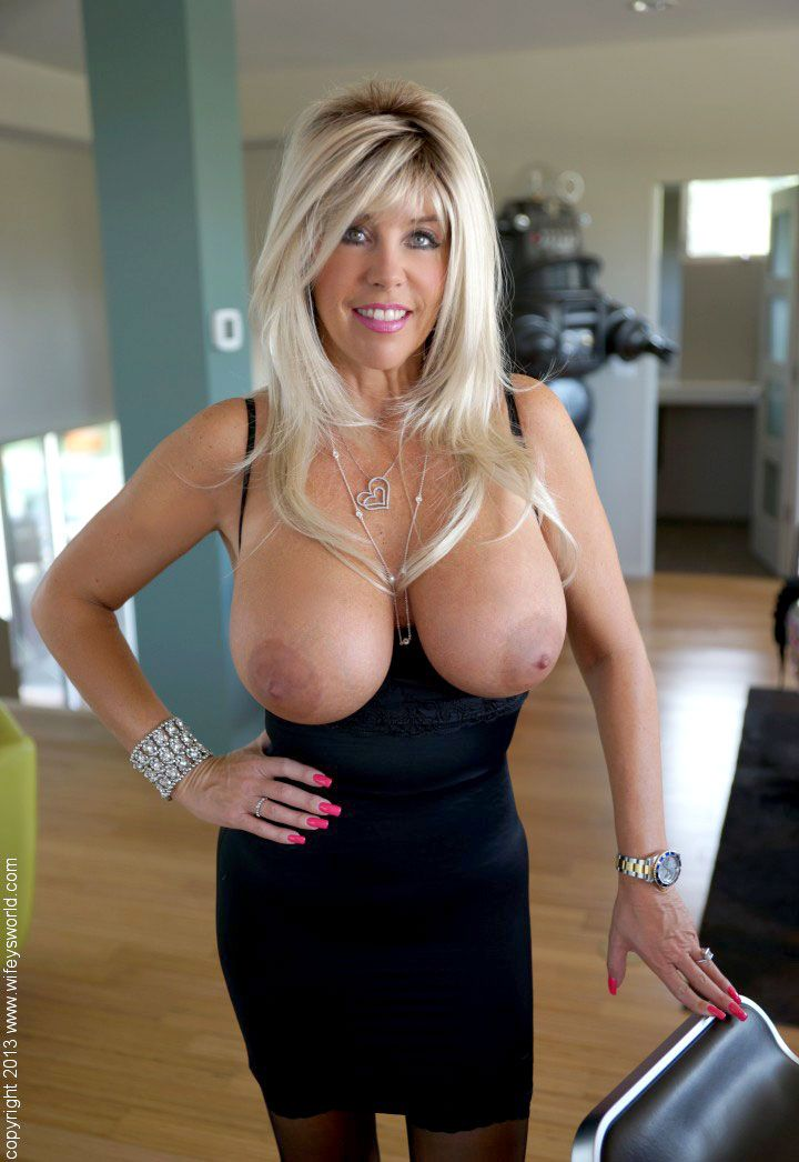 Black Dress Tits 107