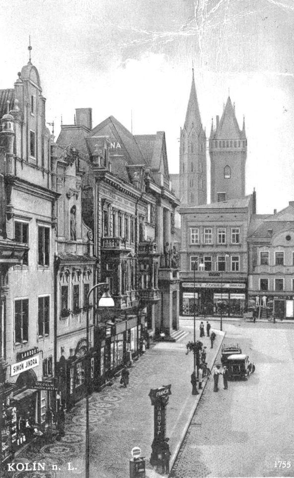 Karlovo namesti 1940
