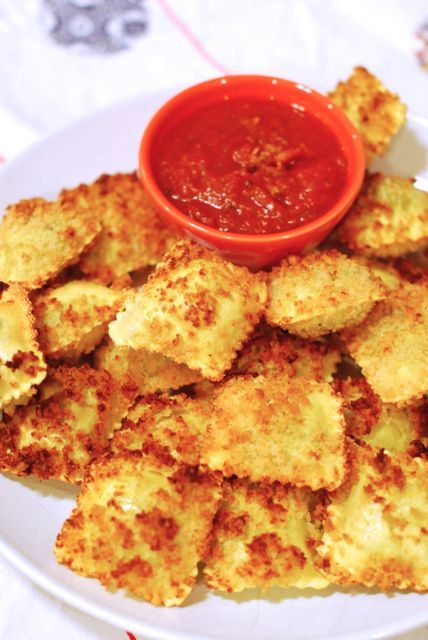 Toasted Ravioli is a delicious and easy weeknight meal for the family ...