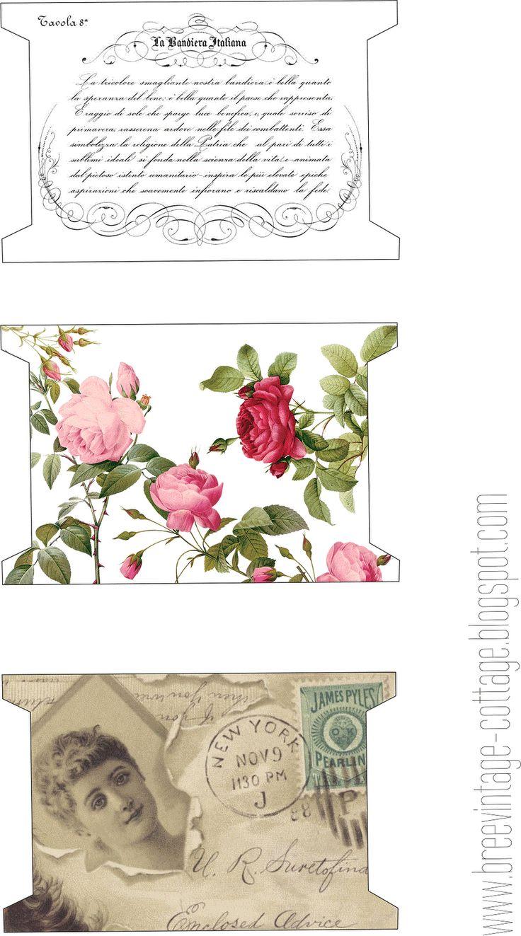Sewing decorative Thread holder printables