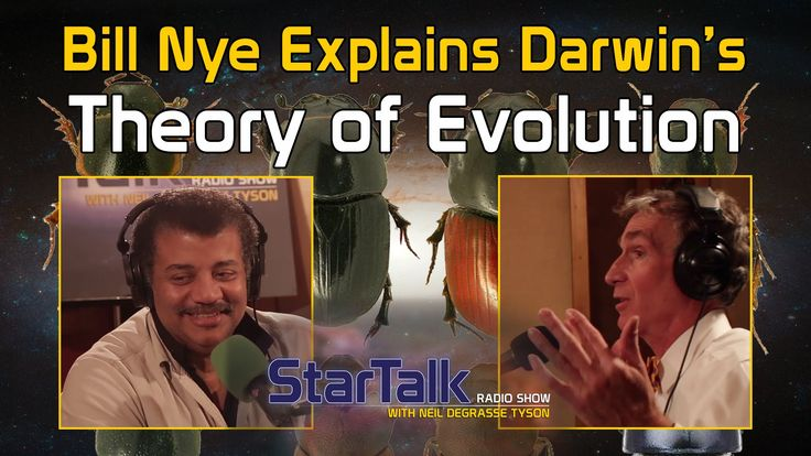 Bill Nye Explains Darwin's Theory of Evolution