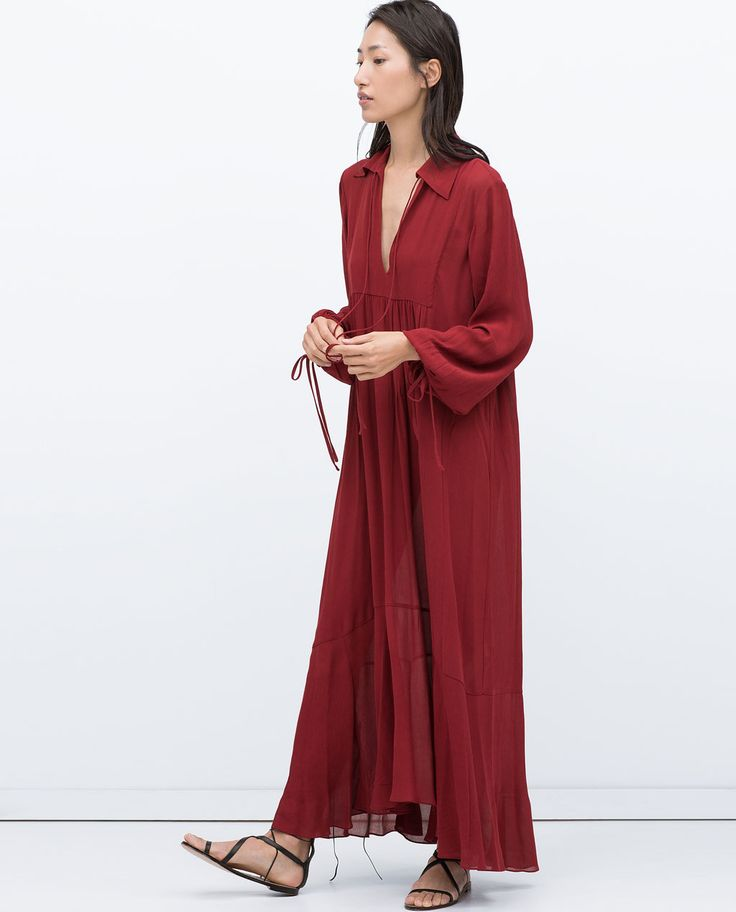 ROBE LONGUE STUDIO-Maxi-Robes-FEMME | ZARA France
