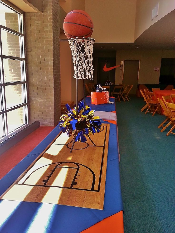 Setting The Mood: Basketball Party