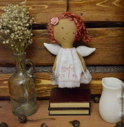 Ароматизированные куклы ручной работы. Летние феечки.. Александра Ковтун. Куклы, игрушки.. Ярмарка Мастеров. Кофейная игрушка, холлофайбер