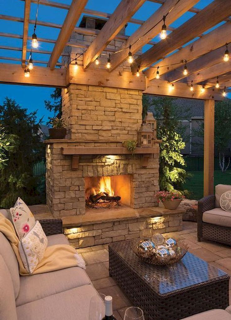 Ultimate Backyard Fireplace setzt die Outdoor-Szene   – Home to Z