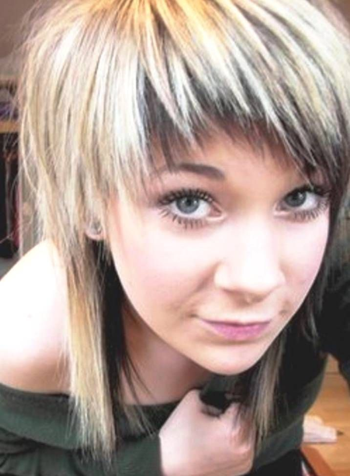 Scene Haircuts For Girls With Long Hair