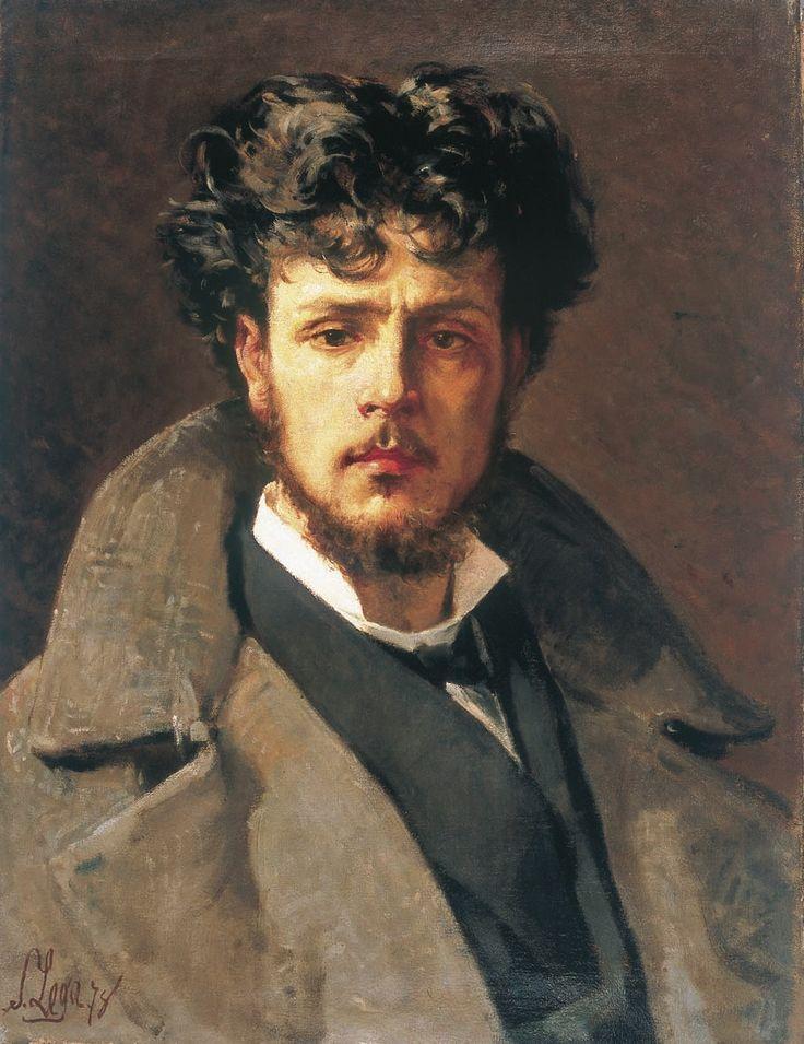 Silvestro Lega (Italian, 1826-1895) : Portrait of Rinaldo Camielo, 1878. Galleria Rinaldo Carnielo, Florence.