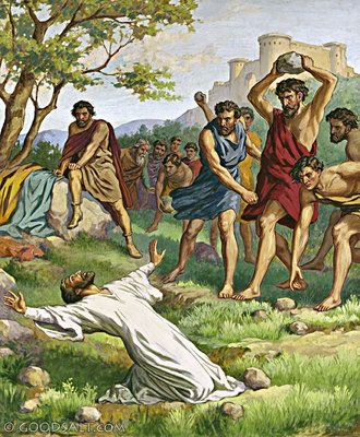 Acts 8: Stoning of Stephen