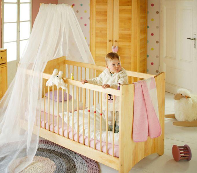 Babybett Kinderbett 70x140 Massivholz Erle Emma von bio-kinder – der Erlenholzspezialist! auf DaWanda.com