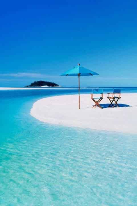 Heavenly paradise