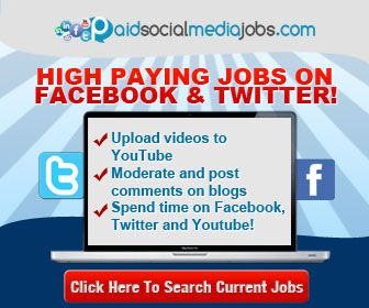 Make Easy Money with a Paid Social Media Job