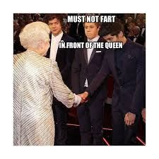 Image result for one direction memes must not fart in front of queen