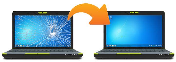 On Site Laptop Screen Repair